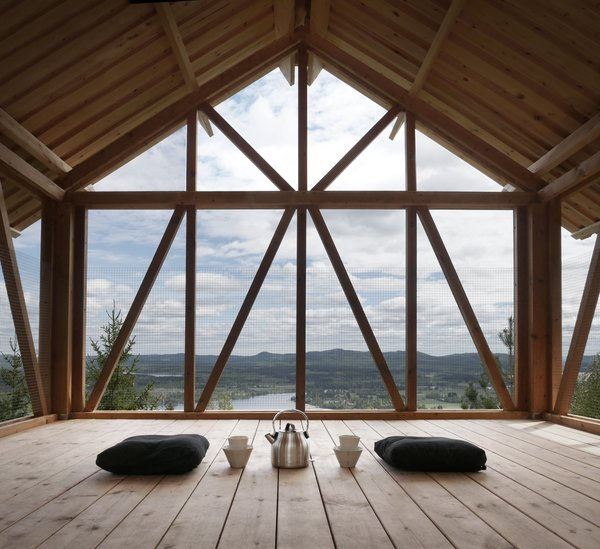 Unwind in a Simple Swedish Cabin With a Meditative Lookout on the Roof - Photo 7 of 7 -