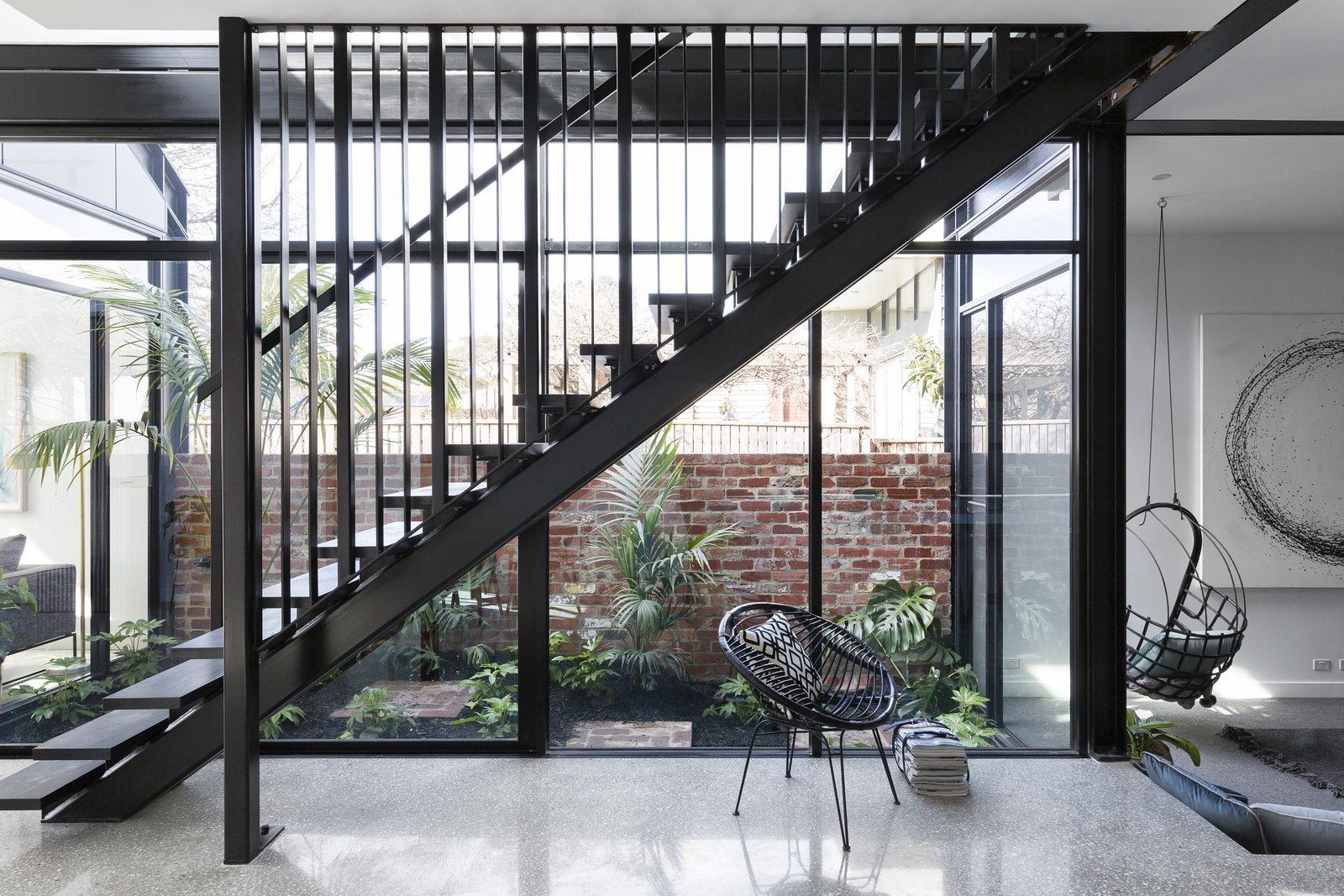Tagged: Staircase, Wood, and Metal.  Best Staircase Photos from A Progressive Melbourne Development Company Helps Facilitate an Exquisite Home Renovation