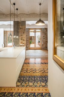 A Dramatic Apartment Renovation in Barcelona Features Salvaged Tile and Brick - Photo 6 of 13 -
