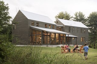 A Maine Farmhouse Built With Salvaged Materials