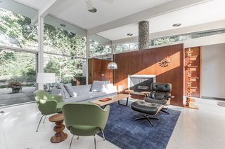 A Midcentury Gem by a Famed Indiana Architect Offered at $450K - Photo 2 of 10 -