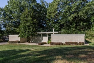 A Midcentury Gem by a Famed Indiana Architect Offered at $450K - Photo 1 of 10 -