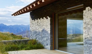 This Modern Stone Cabin Looks Like It Belongs in Middle-Earth - Photo 9 of 10 -