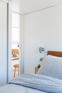 Life in This Renovated Houseboat Would Be But a Dream - Photo 9 of 13 - MDF panelling also allowed for contraction and expansion of the moving vessel.
