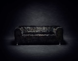 Tom Dixon's New Furniture Collaboration With IKEA Warmly Welcomes Hacks - Photo 6 of 6 - Three luxe covers, fabricated by Bemz, are also available.