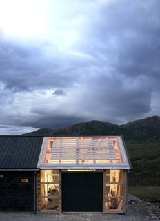 This Astounding Cabin in Norway Is a Patchwork of Different Materials - Photo 4 of 7 - On nice days, doors can be opened for indoor/outdoor flow.