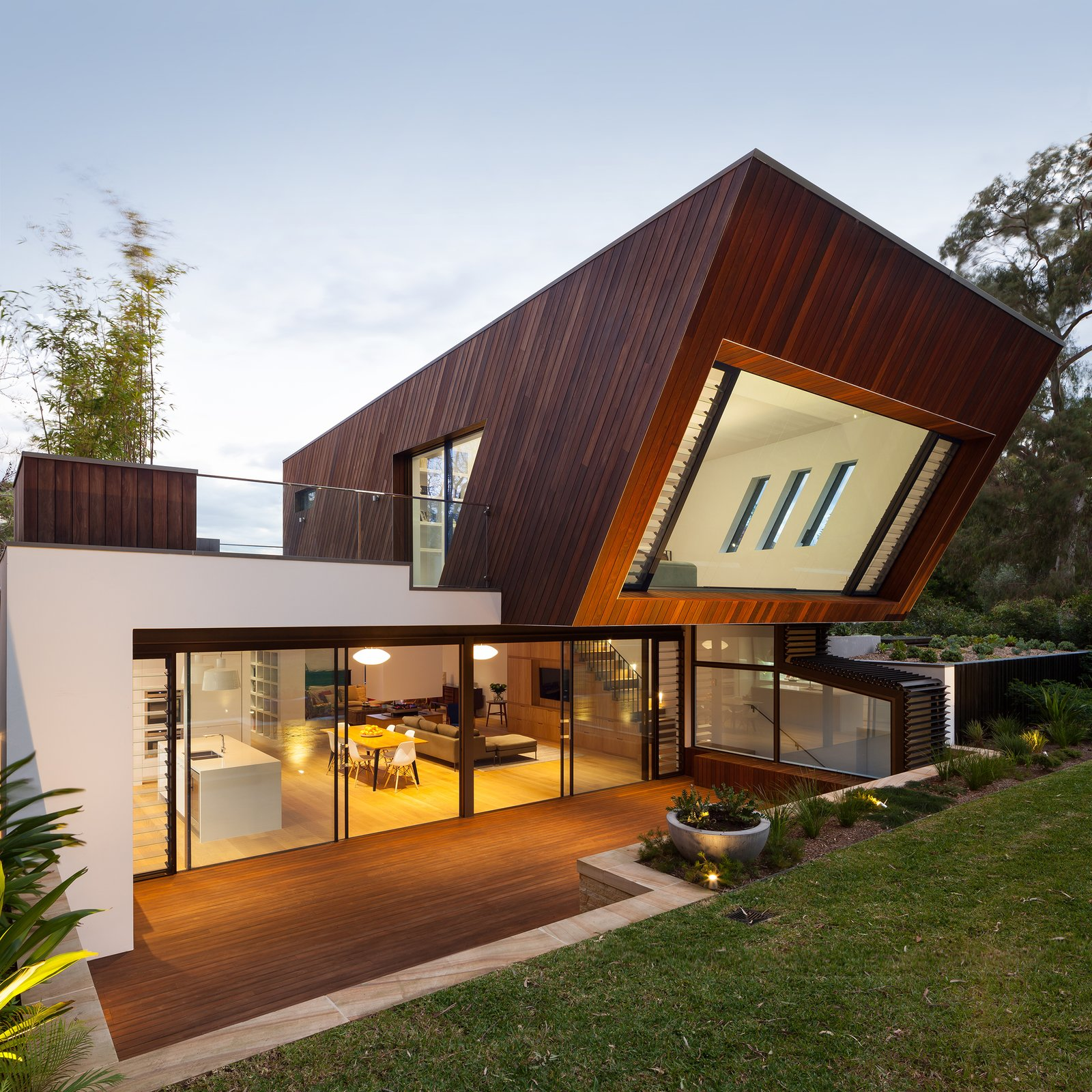 New Extension Exterior Rear 1  Castlecrag House by Gerard Page