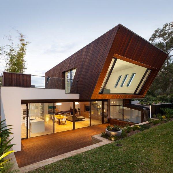 New Extension Exterior Rear 1 Photo  of Castlecrag House modern home