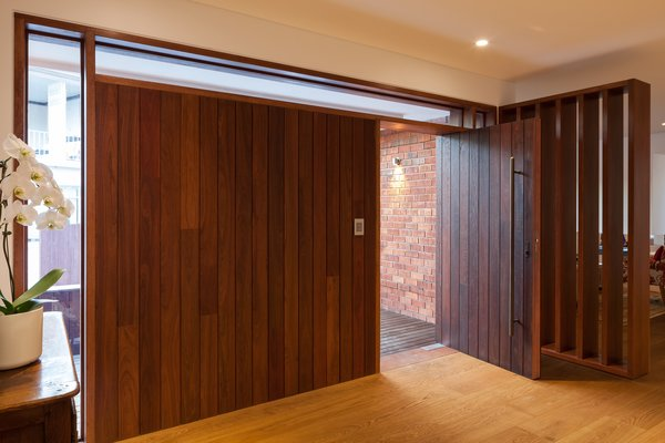 New front Entry in existing dwelling (Interior) Photo 5 of Castlecrag House modern home