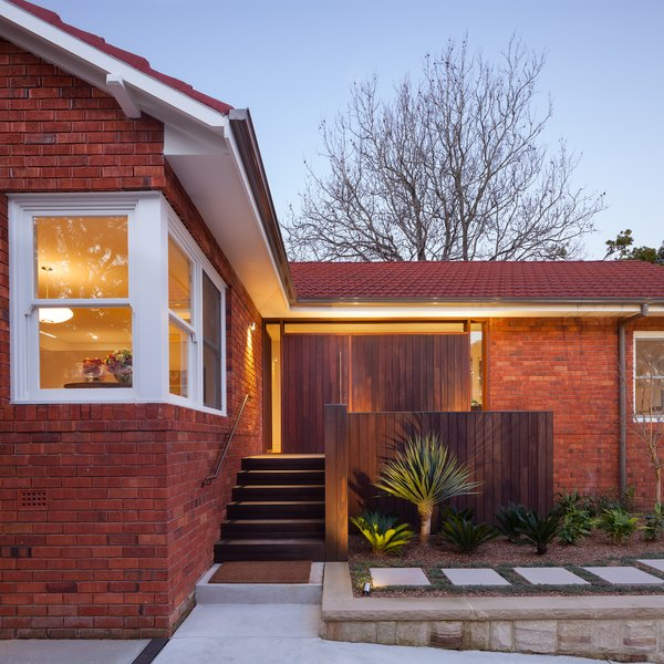 Existing Dwelling with New Front Entry (Exterior) Photo 6 of Castlecrag House modern home