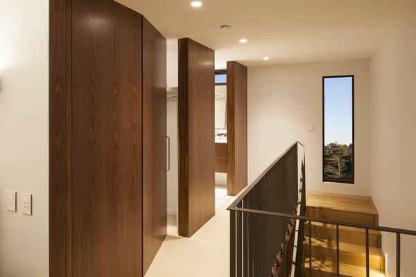 Concealed doors in hallway to Master Bedroom Photo 7 of Castlecrag House modern home