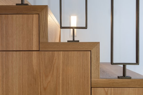 Staircase Joinery Detail Photo 10 of Castlecrag House modern home