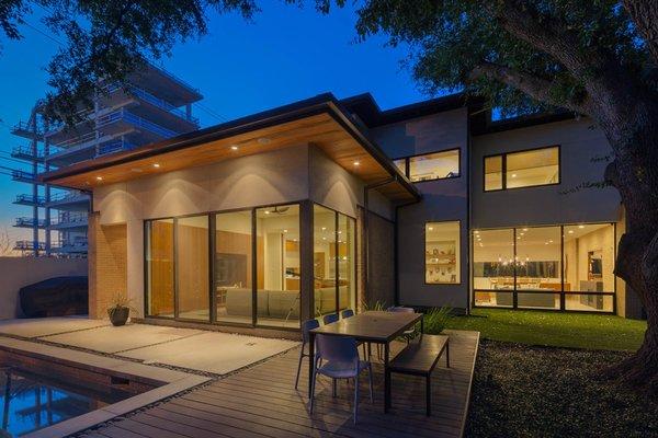 Photo  of Tangley modern home