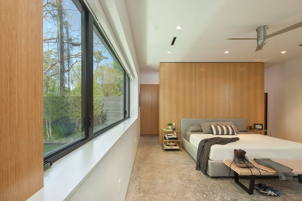 Modern home with bedroom. Master Bedroom Photo 11 of Pavilion Haus