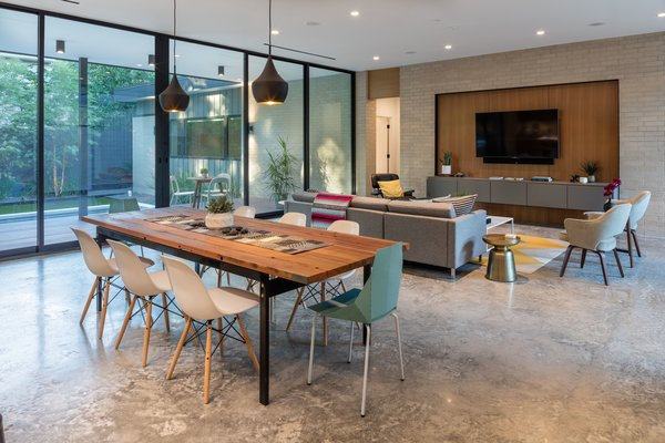 Dining and Living Photo 3 of Pavilion Haus modern home