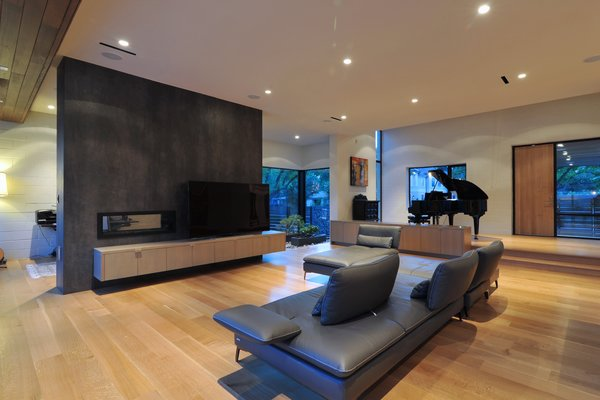 Modern home with living room and media cabinet. Photo 6 of Underwood