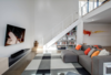 Walkout Basement Living Room Photo 6 of The Raven Home modern home