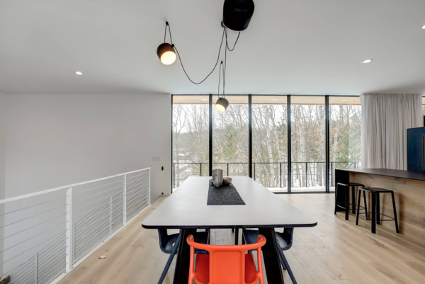 Dining Room Photo 12 of The Raven Home modern home