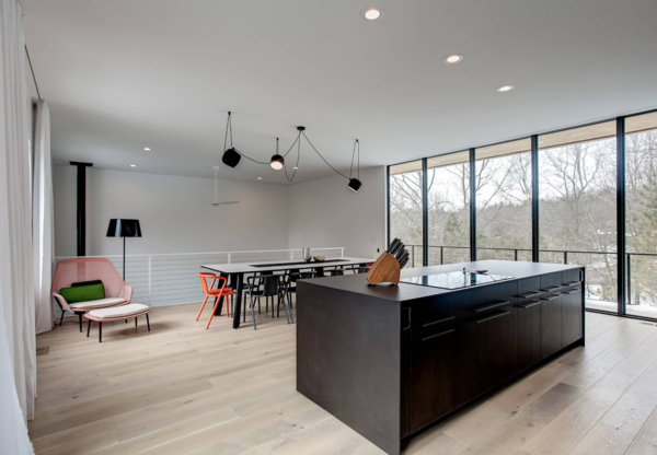 Kitchen and Dining Room Photo 9 of The Raven Home modern home