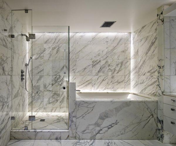Modern home with bath room. Master Bathroom Photo  of Upper West Side Duplex, New York