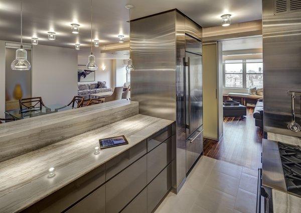 Modern home with kitchen. Open Kitchen Photo 4 of Upper West Side Duplex, New York