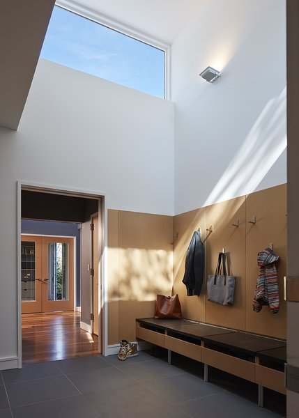mudroom Photo 10 of Courtyard Residence modern home