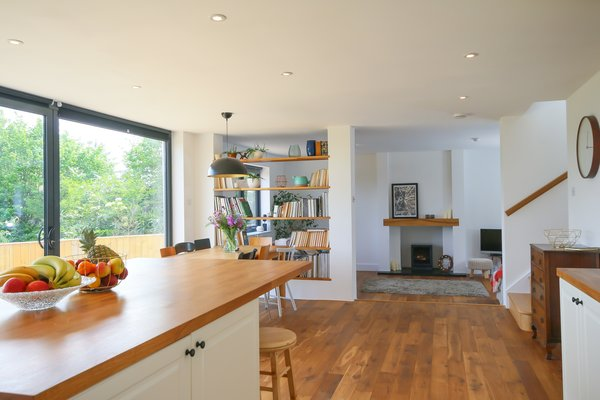 Open Plan Space Photo 3 of FOlly Hill modern home