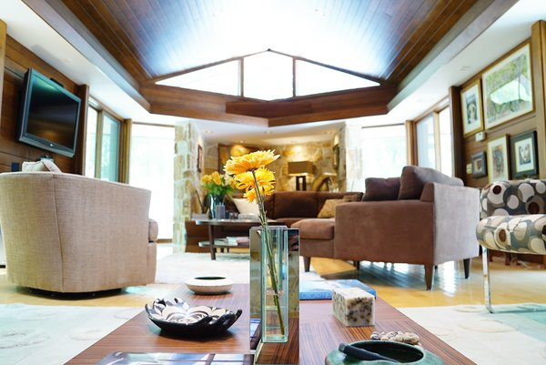 Living Room Oasis Photo 2 of Bailey/Friedlander House-Robert Greene Designed modern home