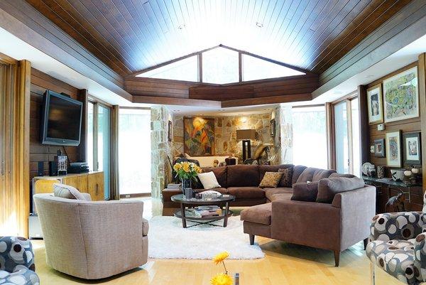 Living Room Oasis #2 Photo 3 of Bailey/Friedlander House-Robert Greene Designed modern home