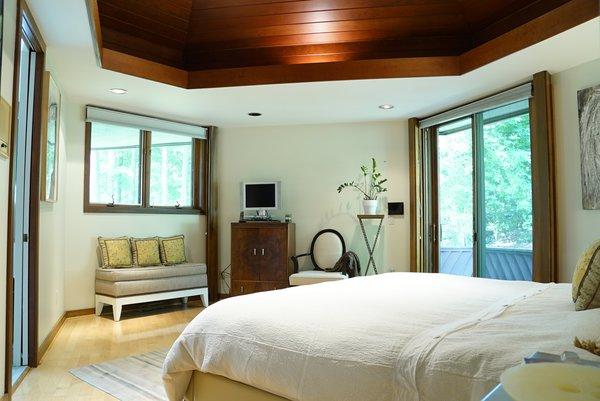 Master Bedroom Sanctuary Photo 5 of Bailey/Friedlander House-Robert Greene Designed modern home