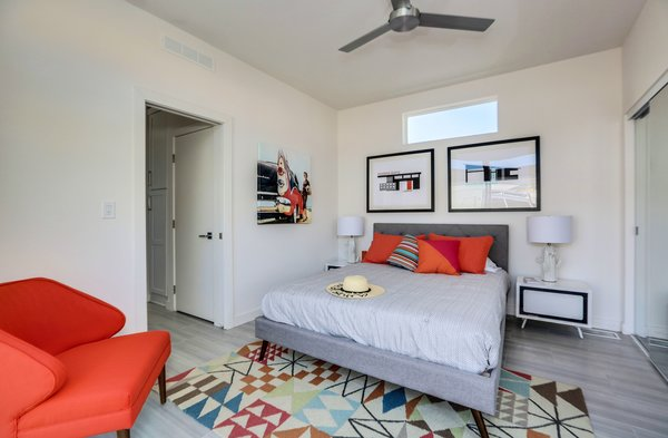 Bedroom - Palm Canyon Mobile Club Photo 15 of Tiny Homes in Palm Springs modern home