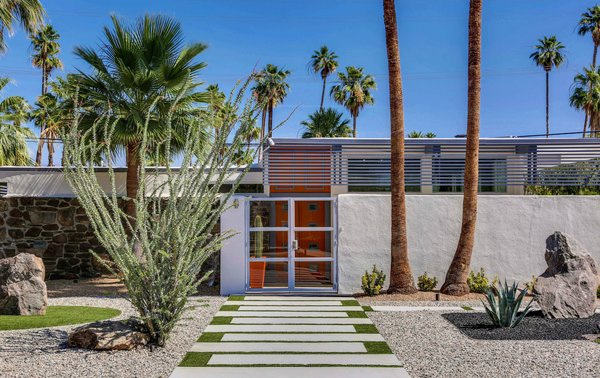 Photo 3 of Historic Mid-century home,  located in Twin Palms Estates modern home