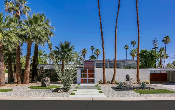 Photo 2 of Historic Mid-century home,  located in Twin Palms Estates modern home