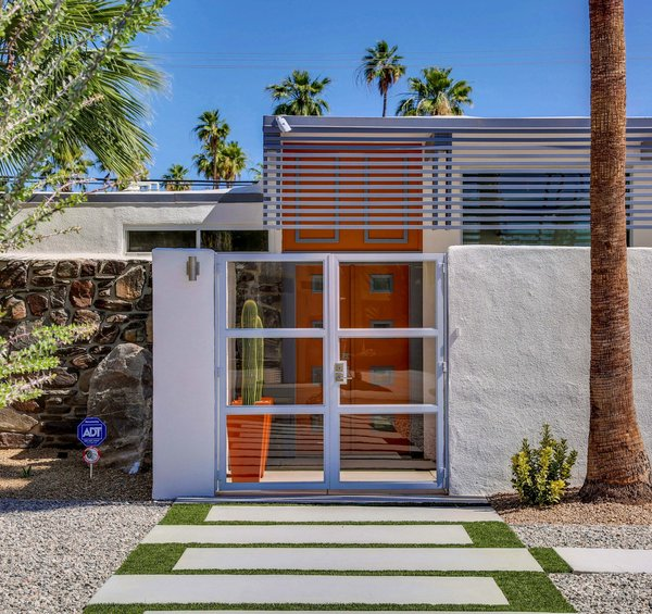 Photo 7 of Historic Mid-century home,  located in Twin Palms Estates modern home