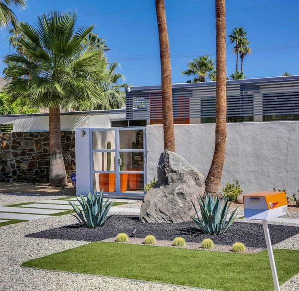 Photo 5 of Historic Mid-century home,  located in Twin Palms Estates modern home