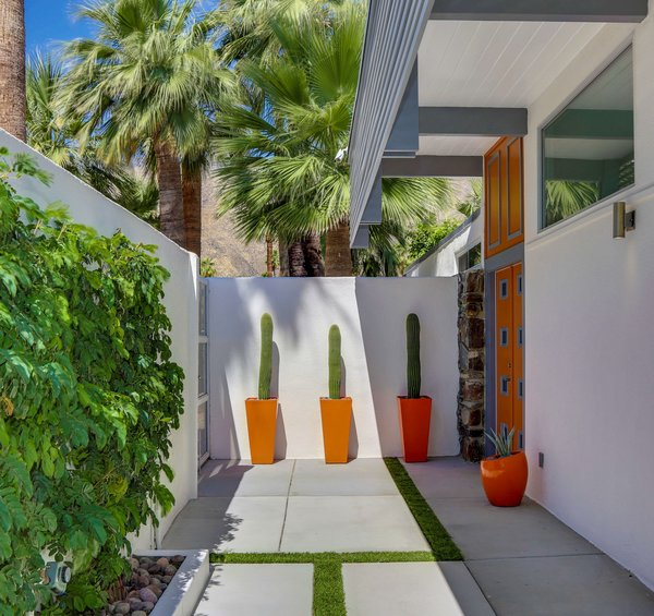 Photo 9 of Historic Mid-century home,  located in Twin Palms Estates modern home
