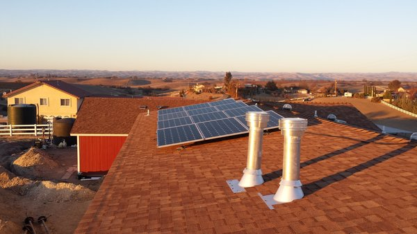 Modern home with bedroom. Solar power @ 3.0 KW Photo 2 of Lefler House