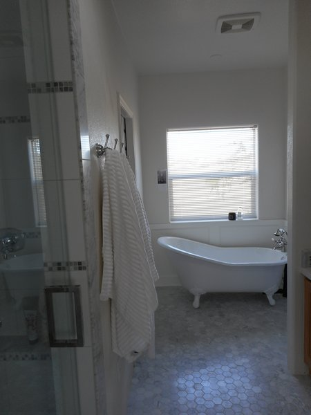 Modern home with outdoor. Master bath Photo 5 of Lefler House