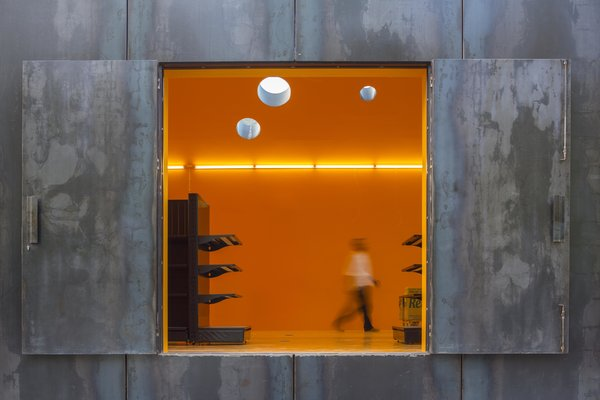 Modern home with windows. Photo 6 of Renova - Store & Theatre