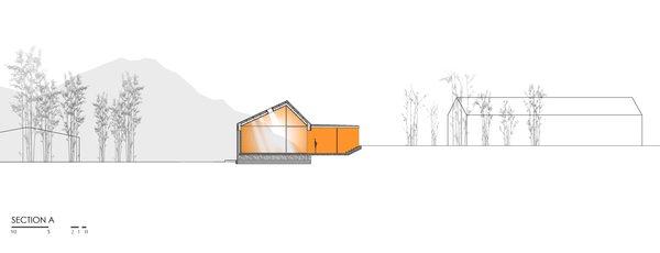 Transversal Section Photo 10 of Renova - Store & Theatre modern home