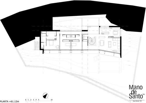 GROUND FLOOR PLAN Photo 5 of Casa Klamar modern home