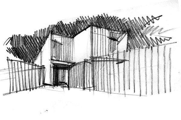 sketch Photo 13 of Casa Forment modern home