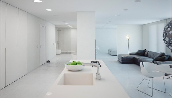 Courtesy Of Http://castironmailbox.net/ Photo Of Minimalist House Modern  Home
