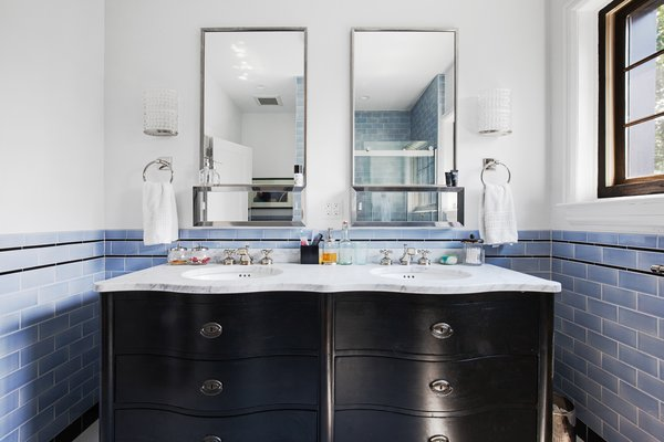 Modern home with bath room. Photo 10 of Designer's Tudor Townhouse (SWEETEN project, designed by Meredith Lorenzen)