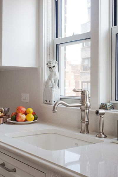 Modern home with kitchen. Photo 7 of AN ART-FILLED APARTMENT RENOVATION 40 YEARS IN THE MAKING!