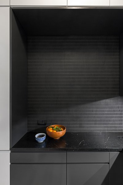 Modern home with kitchen. Photo 8 of Tiled kitchen and bathroom (SWEETEN project)