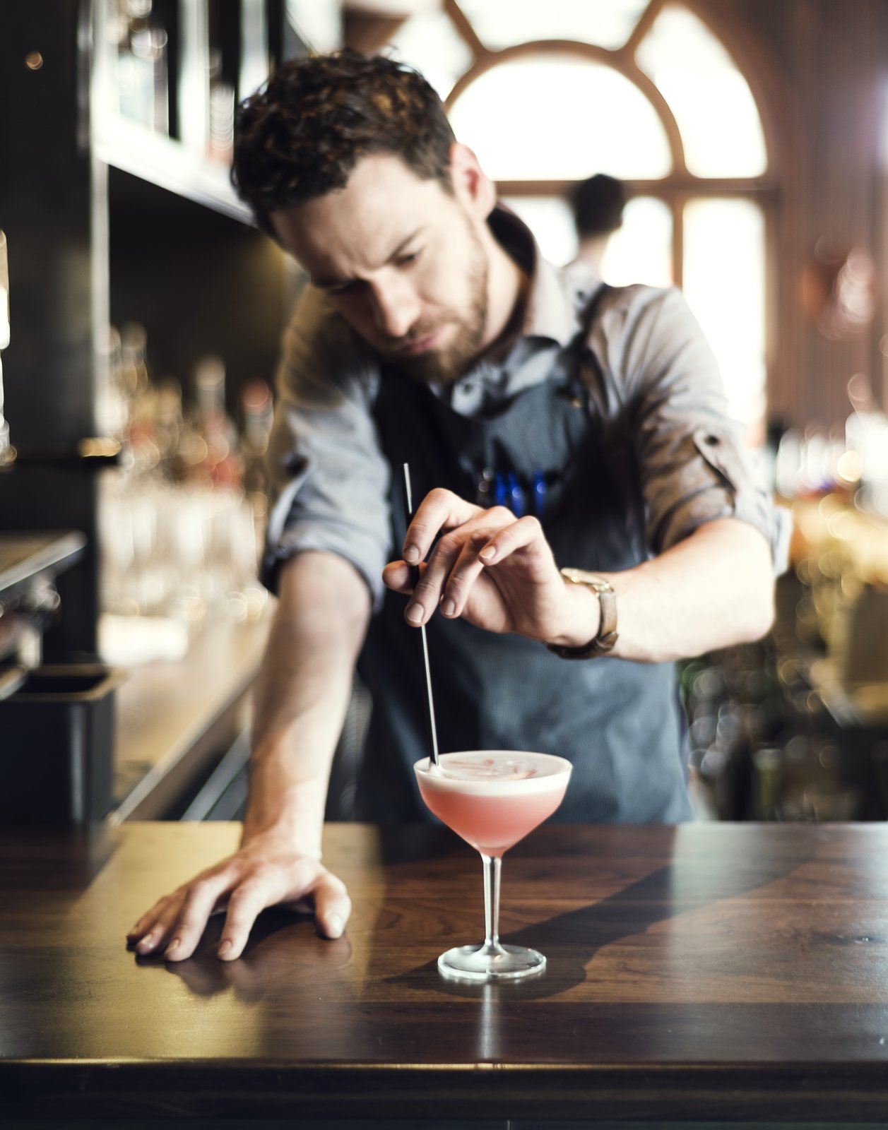 It is the perfect place to grab an expertly shaken cocktail while enjoying the culture of the Fishtown locality.