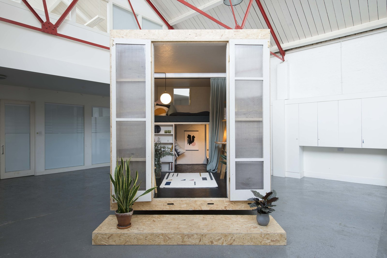 A New Concept For Modular, Affordable Housing Is Coming to London's Vacant Buildings - Photo 1 of 9
