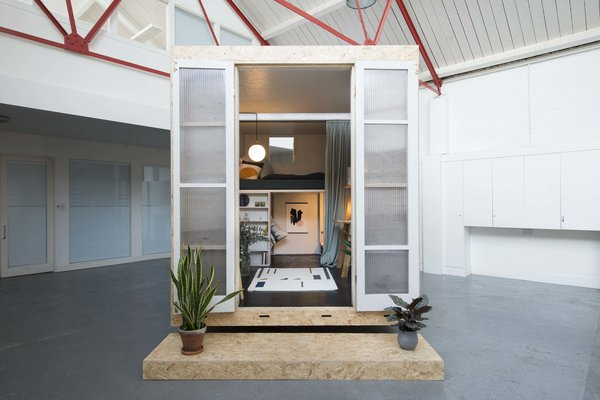 The collaborative team of Studio Bark and Lowe Guardians describe the SHED concept as