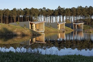 Harmonizing With Nature, These Eco-Huts Offer Respite in the Heart of France - Photo 1 of 10 -